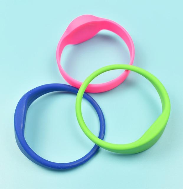 5PCS 125khz RFID EM4100 TK4100 Wristband Bracelet Silicone Waterproof ID Card