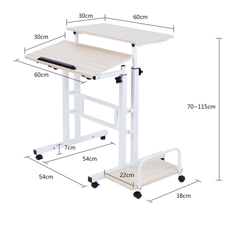 F#8203 A standing Wo language notebook desktop comter desk lifting table FREE SHIPPING bsdt and one hundred million to reach the notebook comter office desktop home simple mobile learning desk free shipping