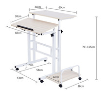 F#8203 A standing Wo language notebook desktop comter desk lifting table FREE SHIPPING
