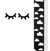 Nordic 50CM-170CM Kids Height Ruler Canvas Hanging Decor Growth Chart Ruler Wall Decoration Scandinavian Decor For Kids Room