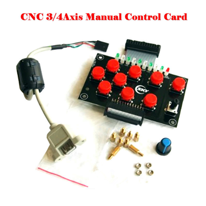 CNC USB hand control link USB CNC jade woodworking engraving machine 4 axis 3 axis control card weihong card woodworking lathe engraving plasma denture machine weihong cnc system integration nk105g2 for 3 axis