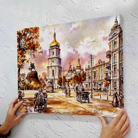Frameless Linen Picture DIY New Arrival Diy Digital Oil Painting Abstract 40 50 Paint By Number