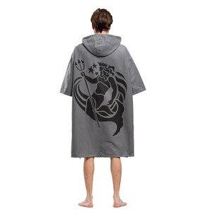 Image 3 - แฟชั่น Poseidon การพิมพ์เปลี่ยน Robe ผ้าเช็ดตัวกลางแจ้งผู้ใหญ่เสื้อคลุมชายหาดผ้าเช็ดตัว Poncho เสื้อคลุมอาบน้ำผ้าขนหนูผู้หญิงผู้ชายเสื้อคลุมอาบน้ำ