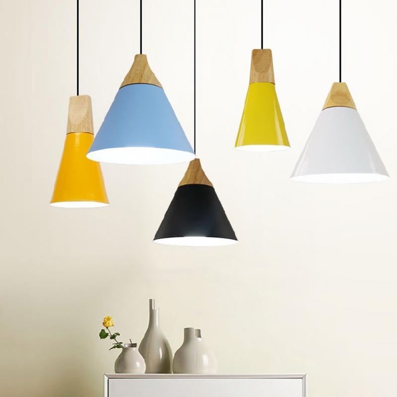 Ceiling Light Pendant Retro Aluminum Dining Room Lamp Covers Lamp Shade