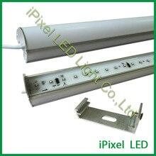 dmx led digital tube light DMX512 Aluminum case, Milky white cove