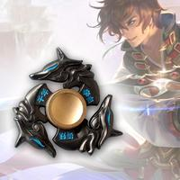 Hot Selling EDC Toys Triangular Hand Spinner High Quality Metal Profession Genji Spinner ADHD Tri Spinner