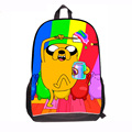 Back to School Fashion New Adventure Time Backpacks for Teenage Boys Finn and Jake School Book Bag Pack for Students Esc Mochila