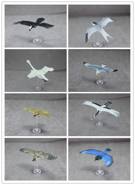 pvc inserted figure   toys   birds, eagles, swans, gulls, simulation, animal models, children 's cognitive toys, 8pcs/set investor s personality and cognitive biases