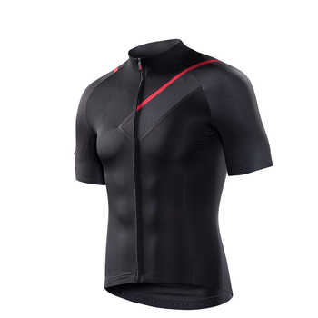 RION Cycling Men\'s Jerseys Short Sleeves Bicycle Racing Downhill Tops Retro 2018 MTB Mountain Bike Motor T shirt Camisa Ciclismo