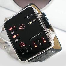 digital watch Men's Fashion Sports Digital Binary LED Displa