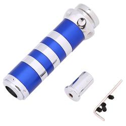 Универсальный ручной тормоз POSSBAY, синий Алюминиевый Чехол для Honda, Toyota, Peugeot, Nissan, Ford, ручка переключения передач