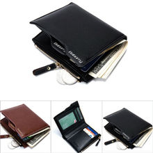Mens Wallets Secure RFID Wallet Leather Purse Pocket Anti-magnetic Luxury