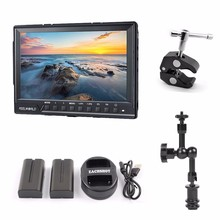 Feelworld FW-760 7» Video Monitor IPS Full HD 1920×1200 1080p HDMI On-Camera Field Monitor + Battery + charger + magic arm