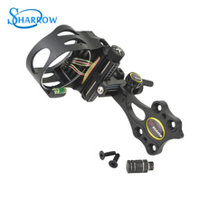 1set Archery Bow Sight CNC Aluminum 5Pin Adjustable Compound Sights Outdoor Sports Shooting Hunting Practice Accessories