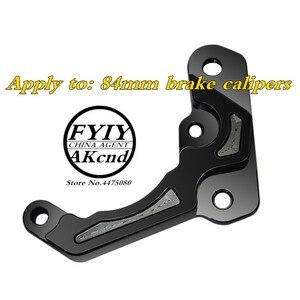 Image 4 - Motorcycle modification CNC aluminum alloy brake caliper For Yamaha aerox155 nvx155 84mm/40mmCaliper seat brake caliper bracket