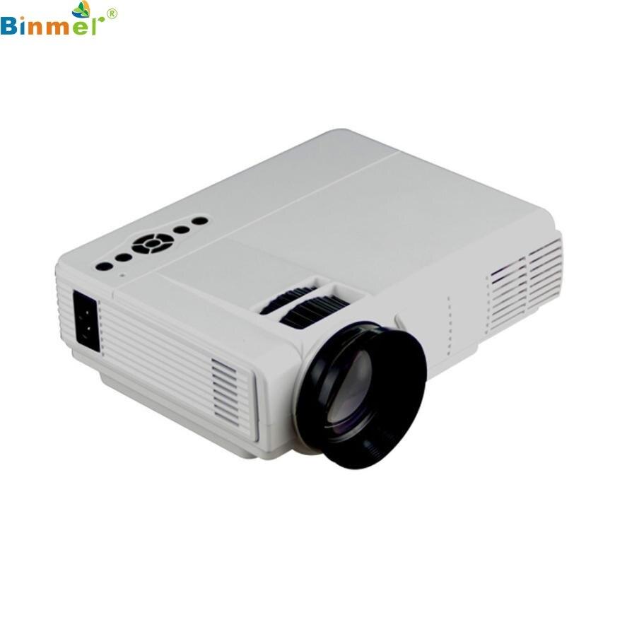HOT new HD 1000 Lúmenes LLEVÓ el Proyector de Cine En Casa USB TV 3D HD 1080 P N
