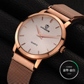 2016 Direct Selling Real Famous Brand Men Watch Male Clock New Big Dial gold sliver Stainless Steel Quartz Wristwatch Hot Sale
