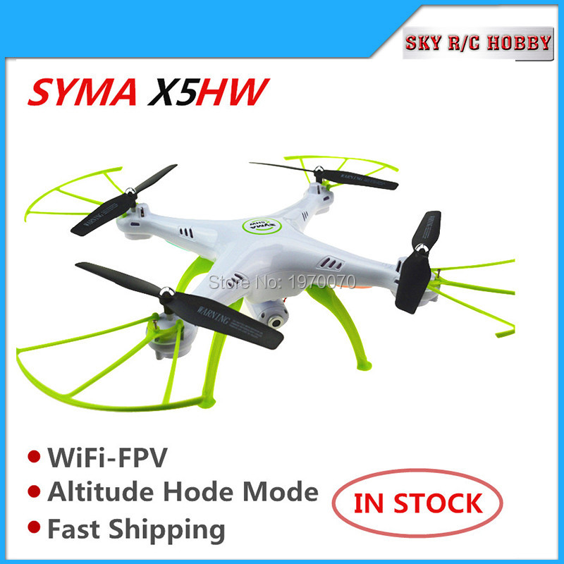Original Syma X5HW 2.4G RC Quadcopter Drone Helicopter Wifi Transmission Camera Altitude Hold Air pressure Mode jjr c jjrc h43wh h43 selfie elfie wifi fpv with hd camera altitude hold headless mode foldable arm rc quadcopter drone h37 mini