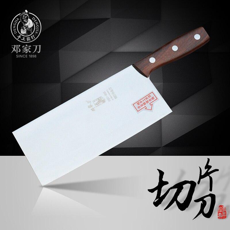 Livraison gratuite DENG Chef professionnel coupe couteaux de mûrier forgé acier inoxydable tranchage couteau viande légume couteau de cuisine