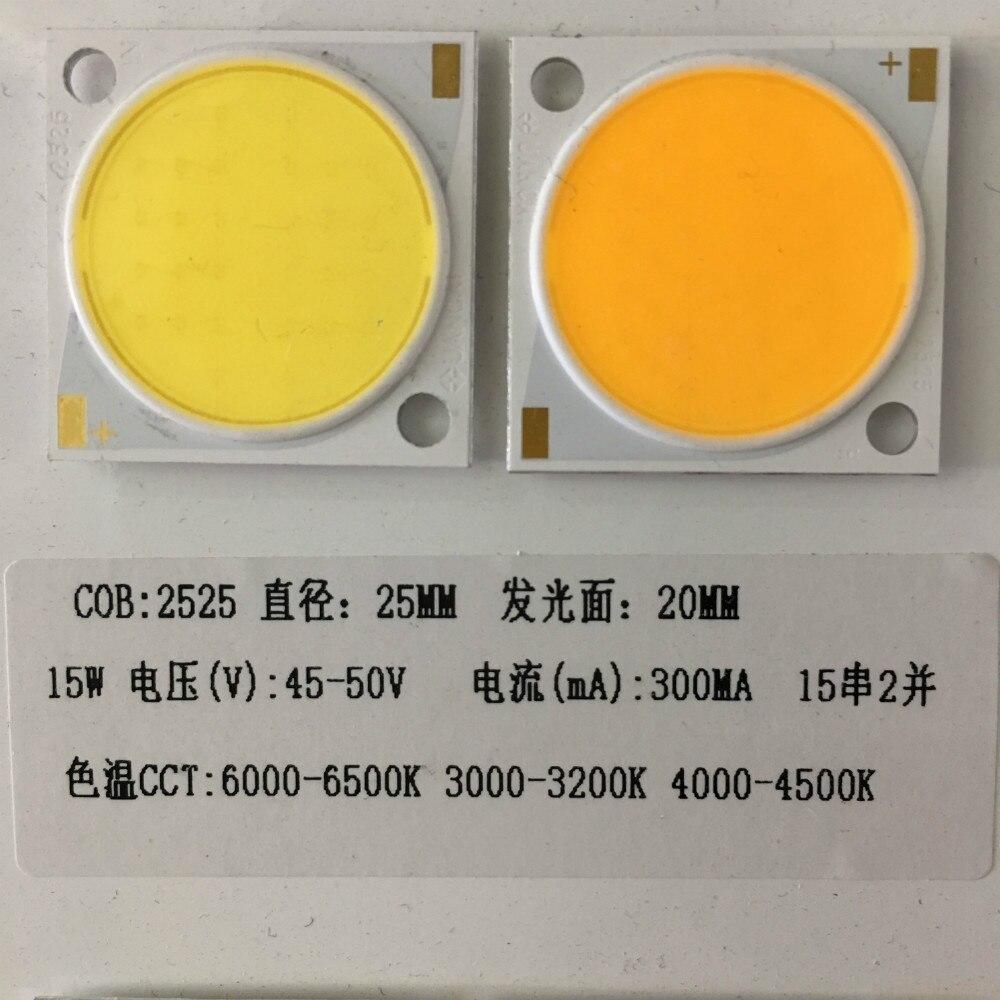 15w 20w 30W 50W LED White Warm White Mirror Aluminum COB Lamp floodlights spotlights sanan chips
