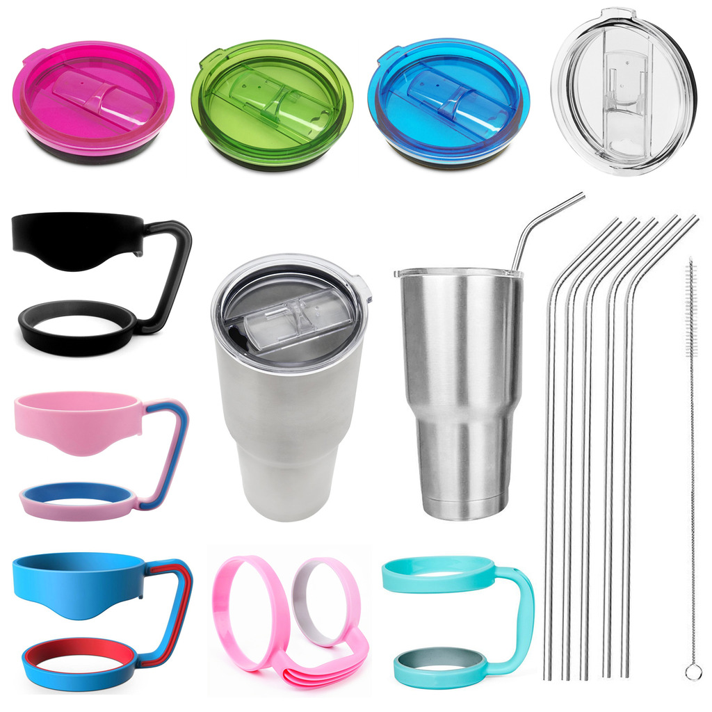 Cheap Replacement <font><b>Cup</b></font> Proof Lid Handle Holder Straws For <font><b>YETI</b></font>/RTIC <font><b>20</b></font> <font><b>Oz</b></font> <font><b>30</b></font> <font><b>Oz</b></font> <font><b>Rambler</b></font> <font><b>Tumbler</b></font> <font><b>Cup</b></font> Replacement Hot Selling