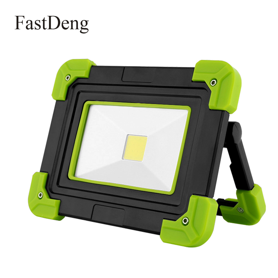 LED Work Light Rechargeable 10w COB Portable Lamp 800lm 4000mAh LED Searchlight For Camping Lantern Outdoor Working Light