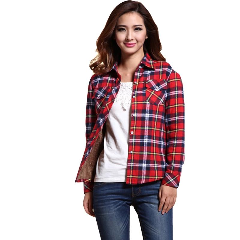 Feminina blusas de inverno 2016 mujeres blusa blusa blusas feminino tapas  de la camisa a cuadros ropa barata de china de la moda de invierno en Blusas  y ... 4c7dc1c18fc17