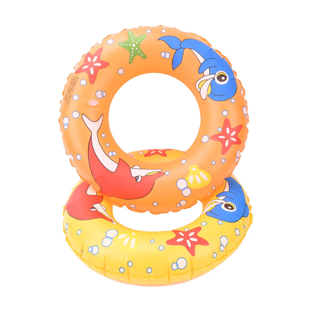 Inflatable Pool Float Circle For Adult Children Dolphin Starfish Inflatable Adult Kids Swimming Ring