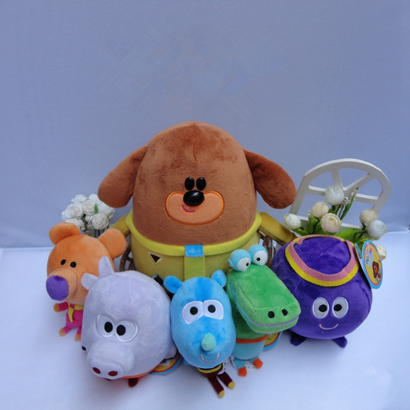 Hey Duggee Woof Duggee plush toy doll 40cm Plush backpacks stuffed toys Doll doll A birthday present for your child