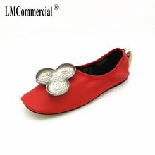 Spring summer comfortable flat shoes light mouth white fashion women Leather flats casual shoes soft bottom womens shoes