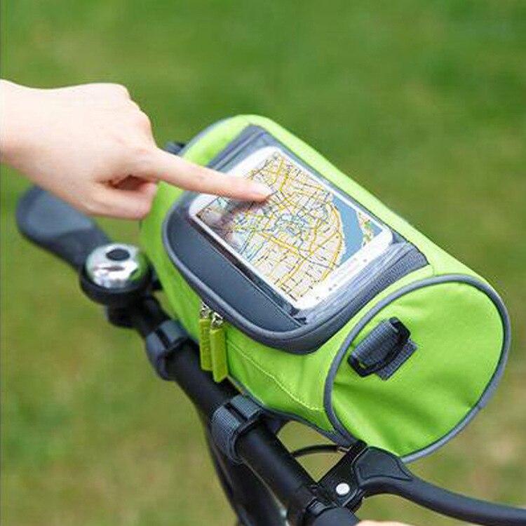 Bicycle Front Touch Screen font b Phone b font Bag MTB Road Bike Cycling font b