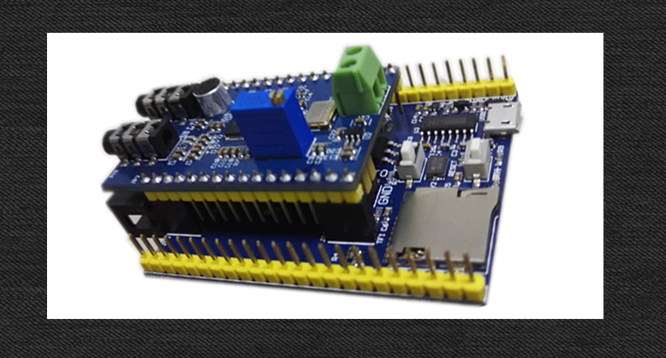 STM32 development board LD3320 module non specific speech recognition module voice control voice playback an incremental graft parsing based program development environment