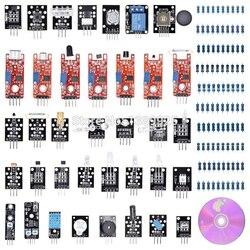 37 في 1 مربع مجموعة أجهزة استشعار وحدة جناح متنوعة للمبتدئين مع التجزئة مربع