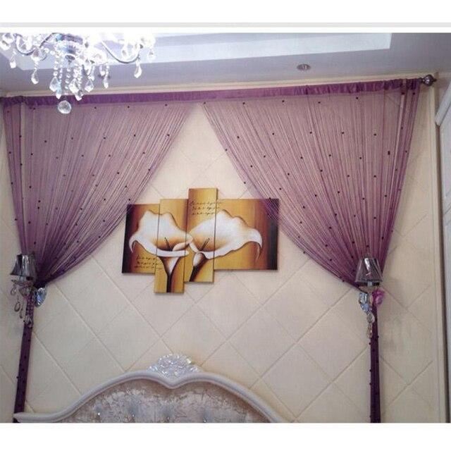 Romantic Beads Design Beaded Crystal Curtain String Door Window Divider  Partition Tassel Decoration. Sweet Design Beaded Room ...