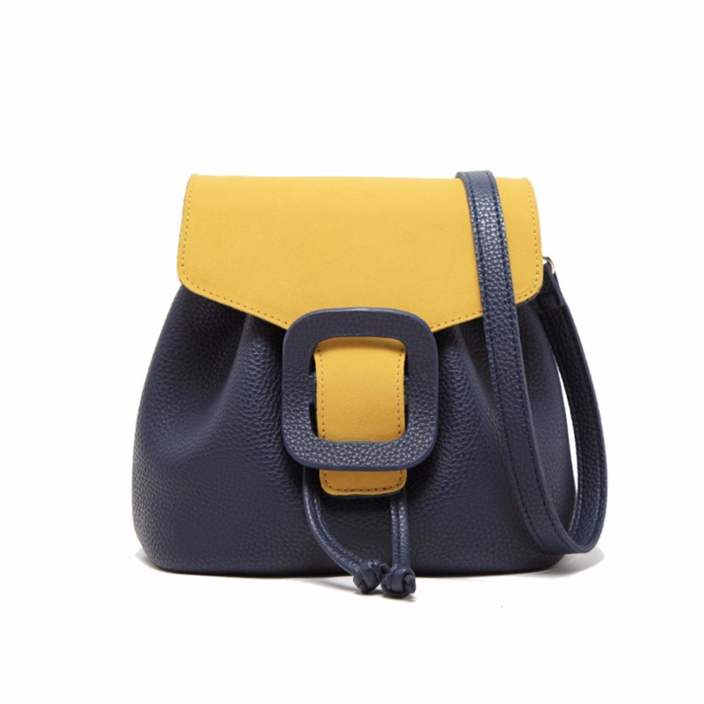 Women Bags Unique Bag Suede Stitching Color Lady Lluxury Bags for Woman Brands Drawstring Design Crossbody Bags bolsa feminina