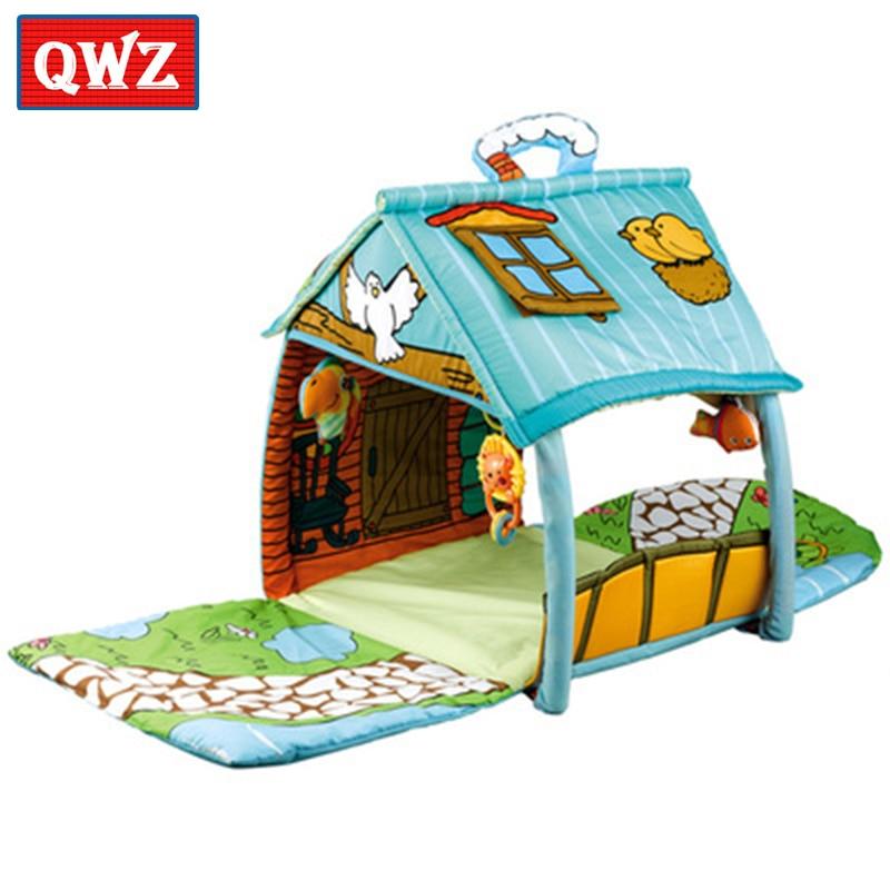 Big house game mat Puzzle early education baby crawling mat Multifunctional interactive intelligence development crawling mat