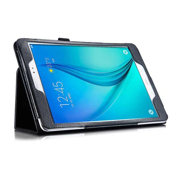 De alta calidad caja de cuero de la PU soporte funda Stander del caso para Samsung Galaxy Tab S3 9,7 SM-T820 SM-T825 9,7 pulgadas