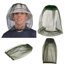 Outdoor Head protection net Anti Mosquito Midge Fly Insect Gauze Net Mask Fishing Camping Face Protect Cap Cover