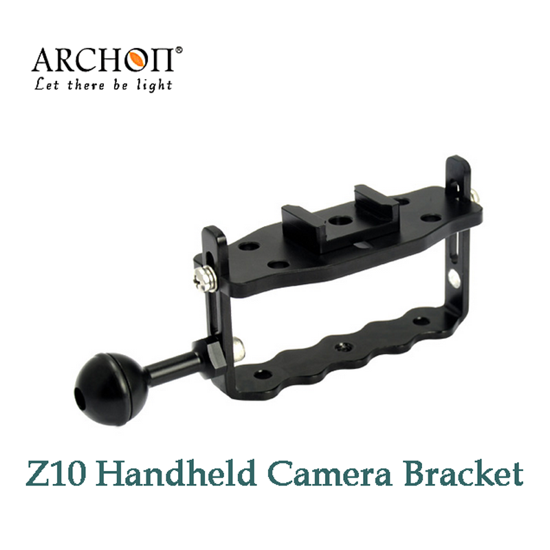 Z10 Adjustable Handheld Diving underwater Mount Bracket arm for Gopro Hero 3 / Hero 2 Video Light camera крепление поворотное sp gadgets swivel arm mount для gopro 53060