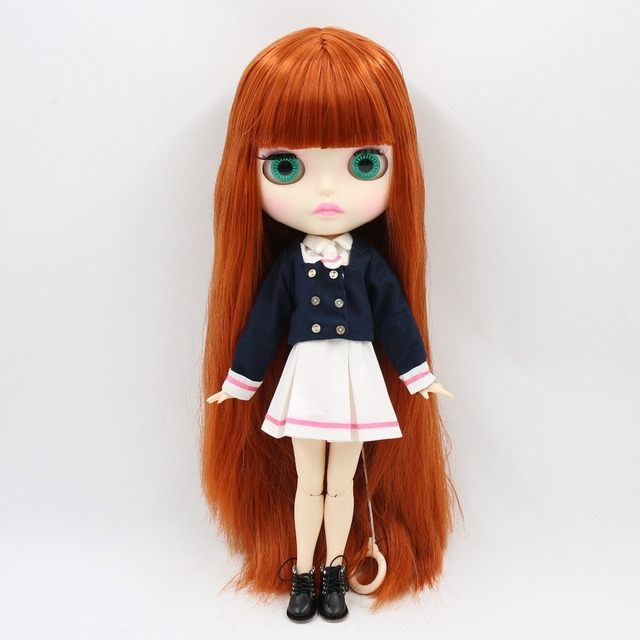 factory blyth doll bjd combination doll with clothes shoes or new face naked doll 1/6 30cm 3