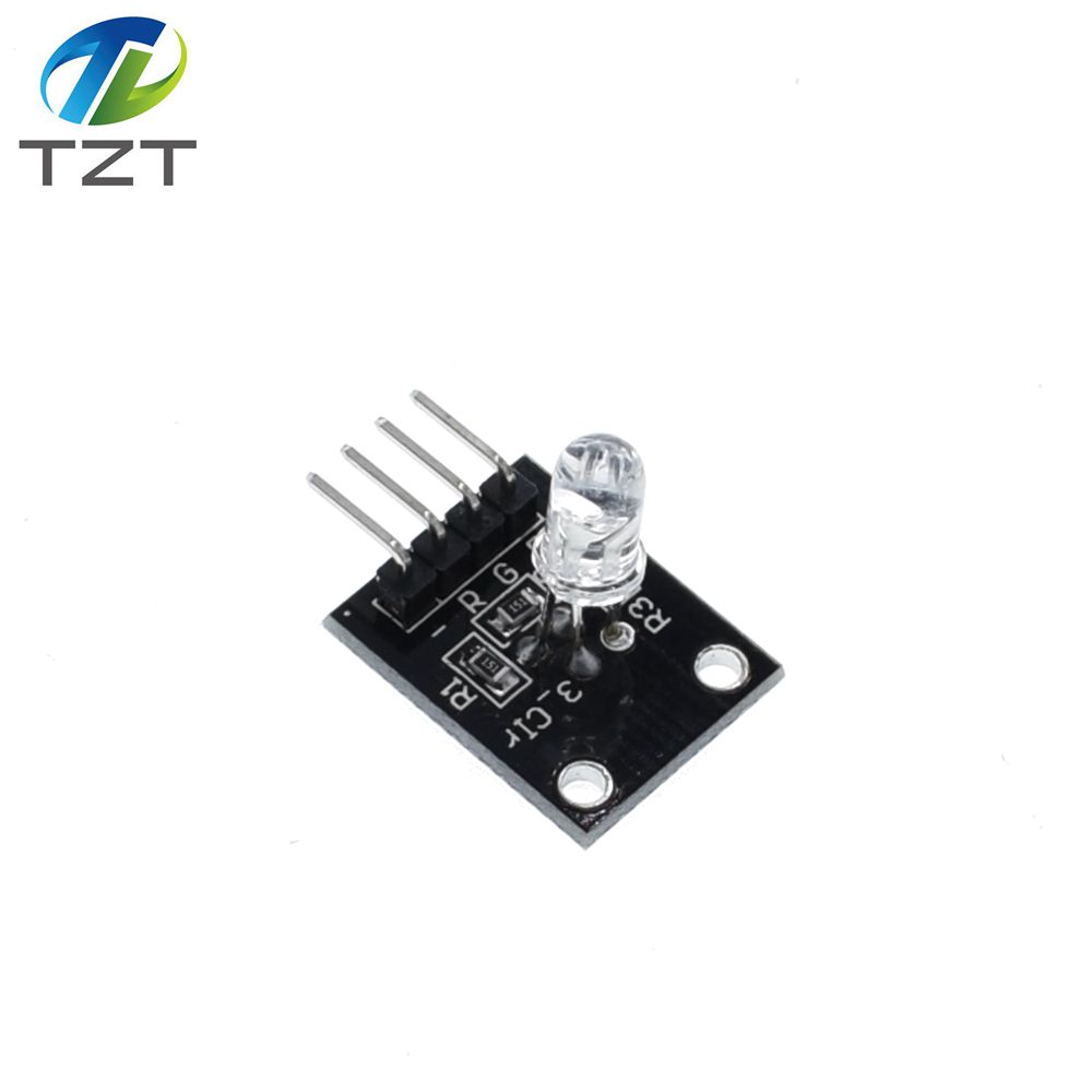 Motivated Tzt Smart Electronics Fz0455 4pin Keyes Ky-016 Three Colors 3 Color Rgb Led Sensor Module For Arduino Diy Starter Kit Ky016 Active Components Electronic Components & Supplies
