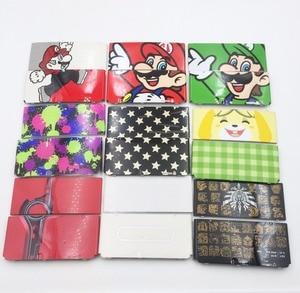 Image 1 - 새로운 3DS 플라스틱 커버 플레이트에 제한된 빨간색 상단 후면 케이스에 사용