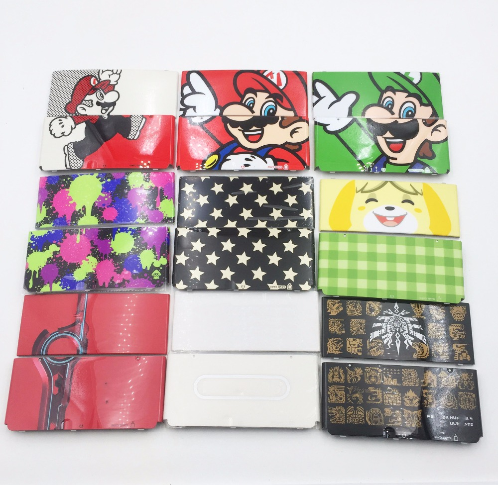 Used For Limited Red Upper Back Case For NEW 3DS Plastic Cover Plates стоимость
