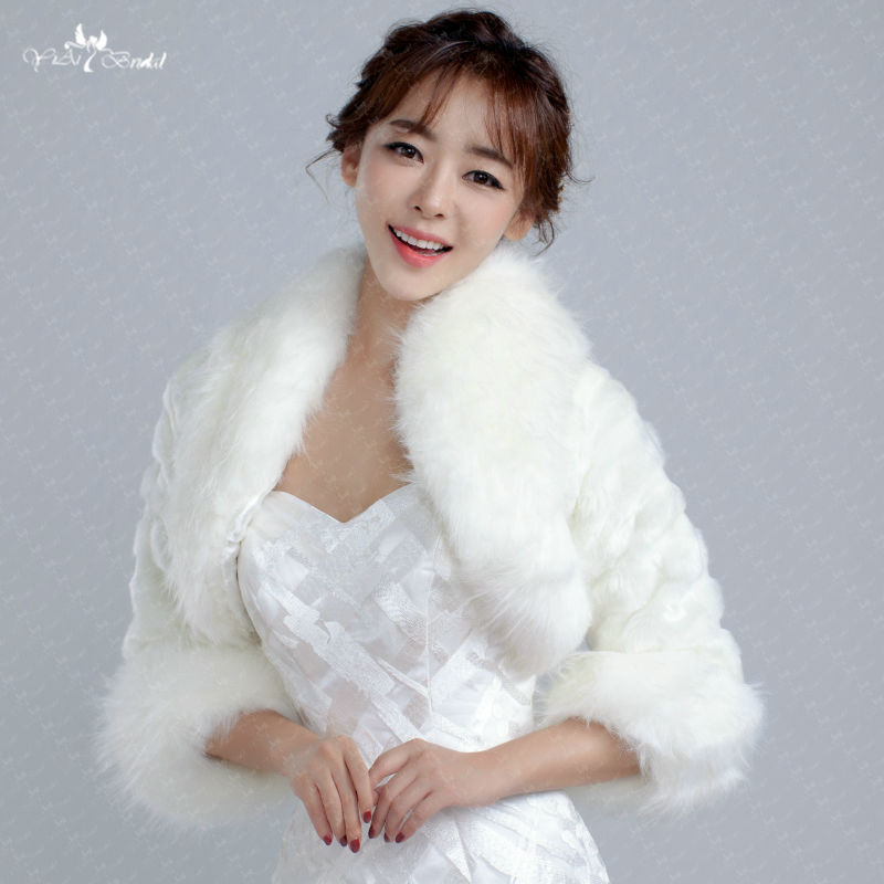 Women's Clothing Trend Mark Fur Vest Rushed Top Fashion Bride Wedding Dress 2016 Autumn And Winter Female Fur Coat Was Imitation Mink Fox Large Size Shawl Orders Are Welcome.