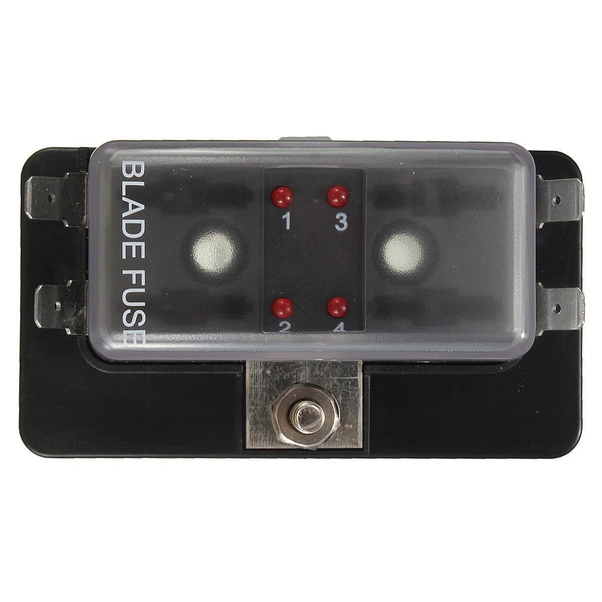 Car Boat Circuit 4 Way ATO Blade Fuse Box Holder LED Blown Warning-in Fuses  from Automobiles & Motorcycles on Aliexpress.com   Alibaba Group