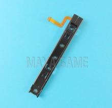 6 قطعة الأصلي اليمين واليسار العالمي المنزلق مع فليكس كابل خط إصلاح إصلاح ل نينتندو التبديل وحدة التحكم NS NX إعادة بناء