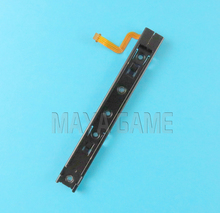 6pcs Original new Right and left Universal Slider With Flex Cable Line Fix Repair For Nintend Switch Console NS NX rebuild