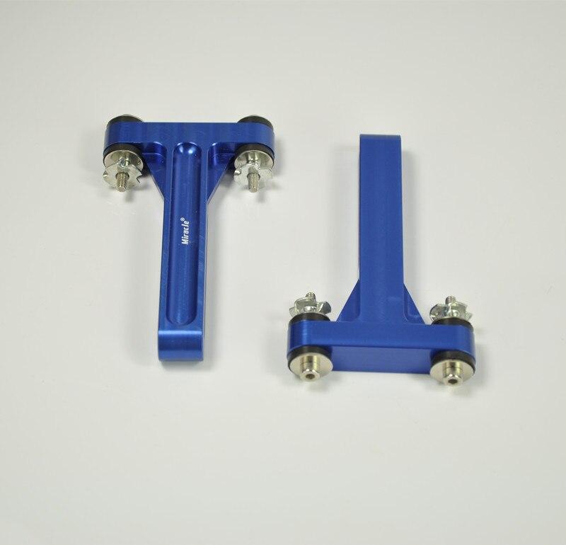 Miracle Hobby Accessoires Moteur Choc Absorbant Montage Pour RC Avion Bleu/Rouge Couleur