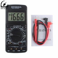 9205A Portable Digital Multimeter AC/DC Voltage Current Resistance Capacitance Voltmeter Ammeter LCD Display Multi Tester|Multimeters|   -