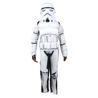 Star Wars Clone Trooper White Soldiers Storm Commando Boy Muscle Cosplay Costume Superhero Costume Kids Halloween